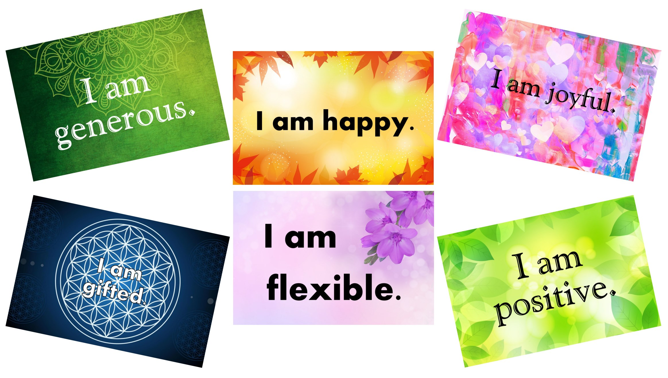 photo about Affirmation Cards Printable named No cost Printable Confirmation Playing cards Non secular Harmony