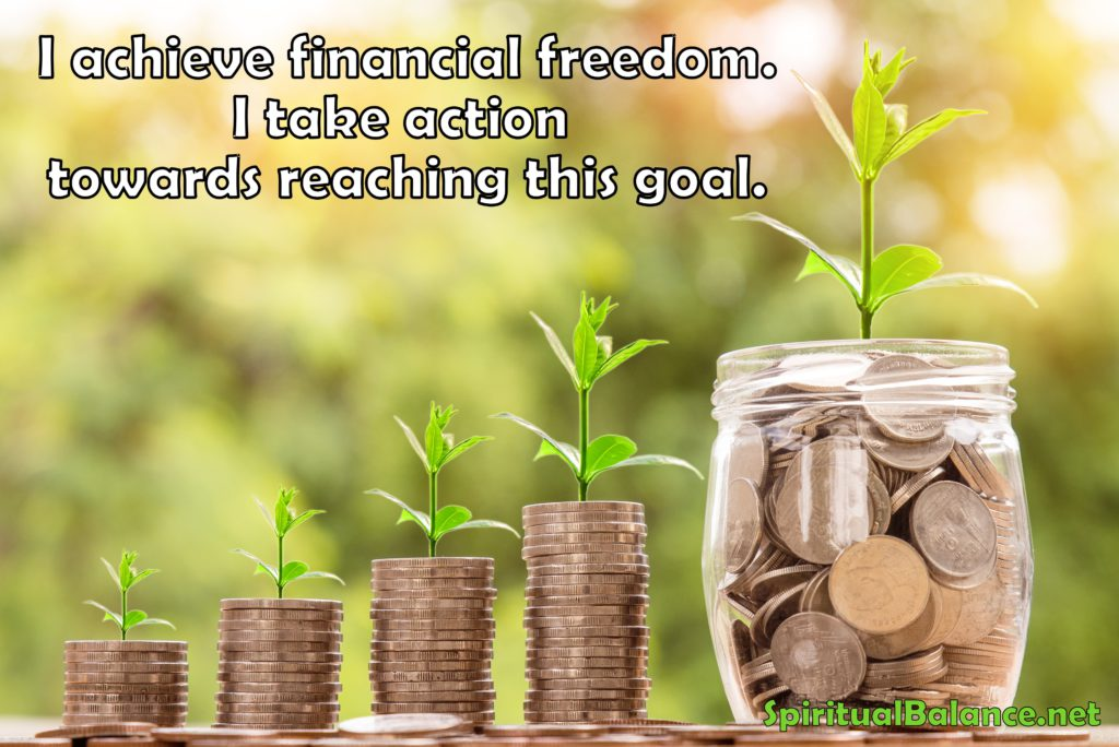 Affirmation for Financial Freedom