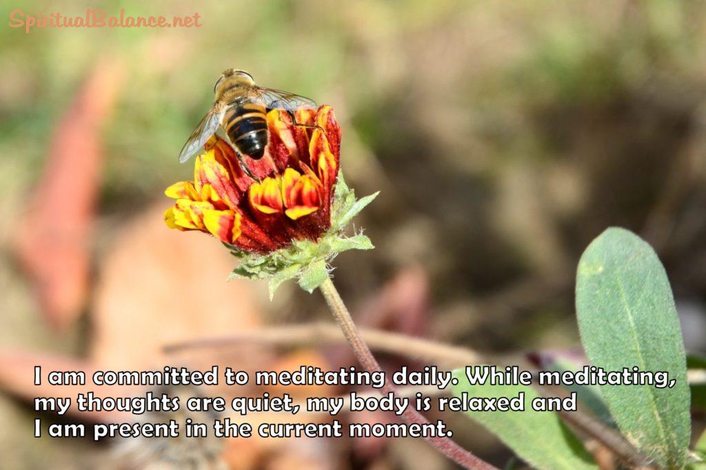 Affirmation for Meditation