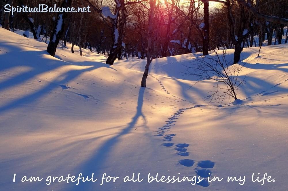 Affirmation for Gratitude